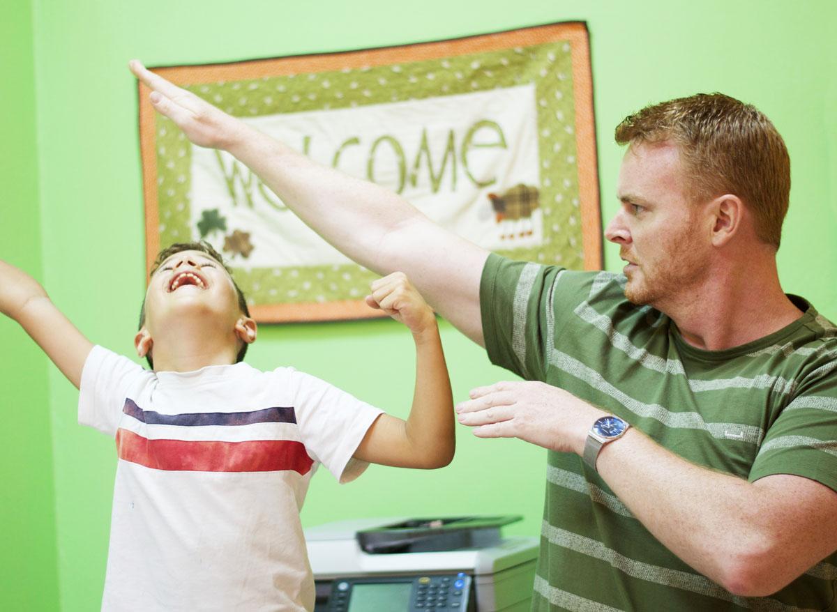 Clases divertidas con profesores nativos